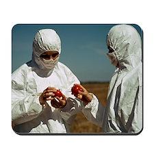 Genetically modified tomatoes Mousepad