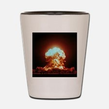 View of the Badger nuclear explosion Shot Glass