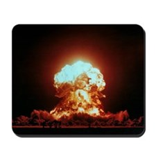 View of the Badger nuclear explosion Mousepad