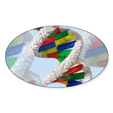 Genetic engineering, conceptual art Decal