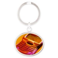 WAP mobile telephone Oval Keychain