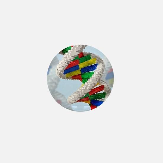 Genetic engineering, conceptual artwor Mini Button