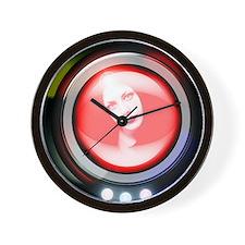 Virtual human Wall Clock