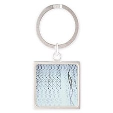 Genetic research Square Keychain
