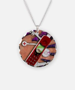 WAP mobile telephone Necklace