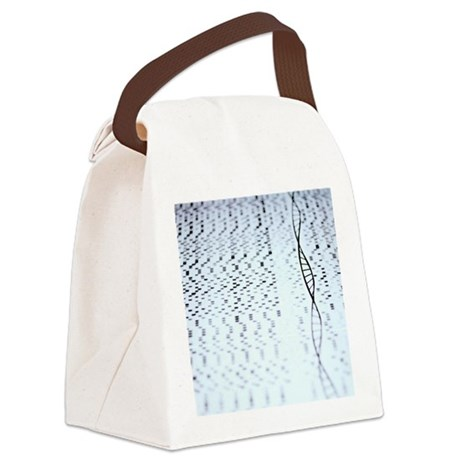 Genetic research Canvas Lunch Bag