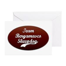 Team Bergamasco Greeting Cards (Pk of 10)