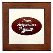 Team Bergamasco Framed Tile