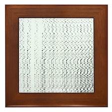 Genetic research Framed Tile