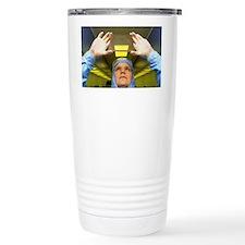 Visual inspection of photomask Travel Mug