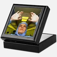 Visual inspection of photomask Keepsake Box