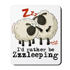 Matt  Layla Zzz Board Mousepad