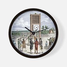 Visual telegraph system, 1791 Wall Clock