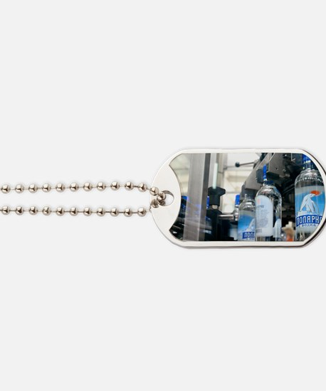 Vodka bottling machine Dog Tags