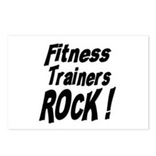 Fitness Trainers Rock ! Postcards (Package of 8)