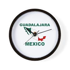 Guadalajara, Mexico Wall Clock
