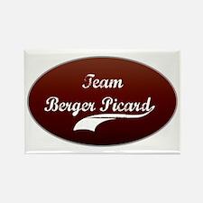 Team Berger Rectangle Magnet