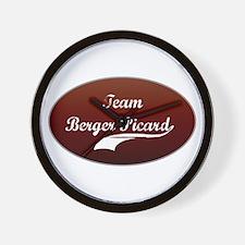 Team Berger Wall Clock