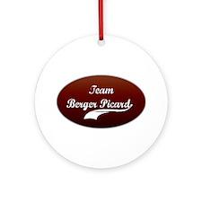 Team Berger Ornament (Round)