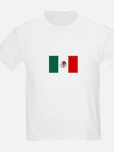 Mexico Flag Kids T-Shirt