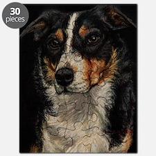 Border Collie Portrait Puzzle