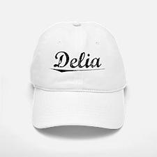 Delia, Vintage Baseball Baseball Cap