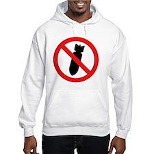 Stop Bombing Sign Hoodie