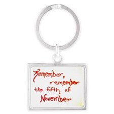 Remember, Remember Landscape Keychain