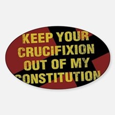 Keep Your Crucifixion Decal