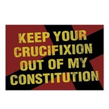 Keep Your Crucifixion Postcards (Package of 8)