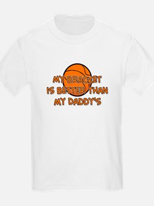 Bracket Daddy Kids T-Shirt