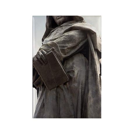 Giordano Bruno, Italian philosoph Rectangle Magnet