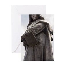 Giordano Bruno, Italian philosopher Greeting Card