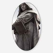 Giordano Bruno, Italian philosopher Decal