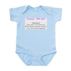 Infant Bodysuit - 100 girl
