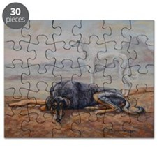 Saluki in the Desert Puzzle