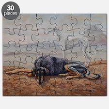 Saluki in the Desert Puzzle