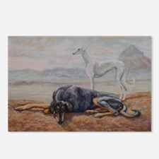 Saluki in the Desert Postcards (Package of 8)