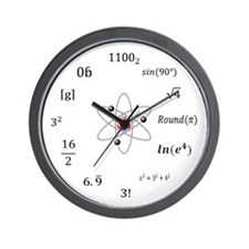 sheldon-large-wood Wall Clock
