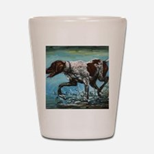 German Shorthaired Pointer Shot Glass