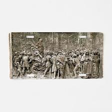 Giordano Bruno's execution Aluminum License Plate