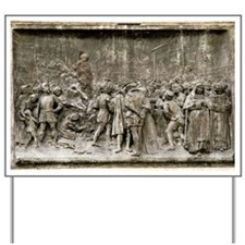 Giordano Bruno's execution Yard Sign