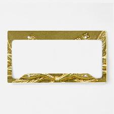Gold hallmarks, 1897 License Plate Holder