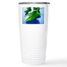 Green chilli peppers Travel Mug
