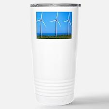 Wind farm Stainless Steel Travel Mug