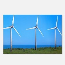 Wind farm Postcards (Package of 8)