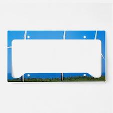 Wind farm License Plate Holder