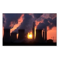 West Burton power station, UK Decal
