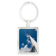 Wind turbine Portrait Keychain