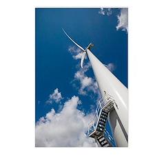 Wind turbine Postcards (Package of 8)